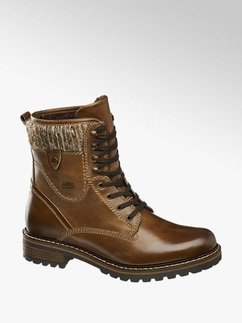 Landrover Kožená šněrovací obuv s membránou TEX