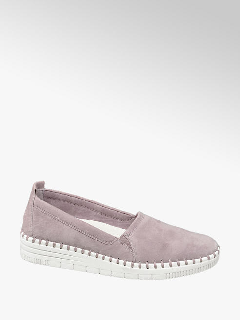 5th Avenue Kožená slip-on obuv