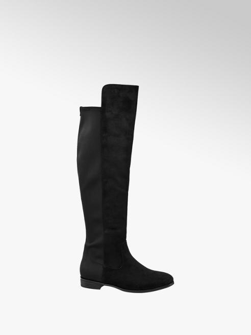Graceland Black High Leg Boots