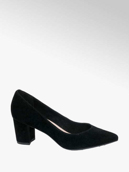 5th Avenue Leather Heeled Shoe