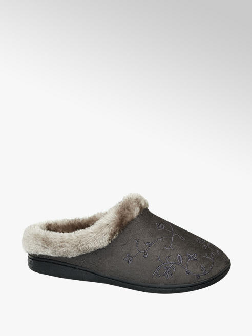 Casa mia Ladies Mule Slippers