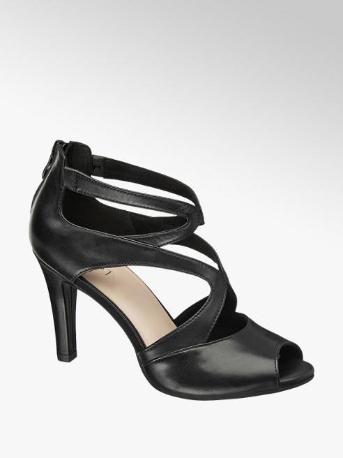 5th Avenue Heeled Leather Shoe