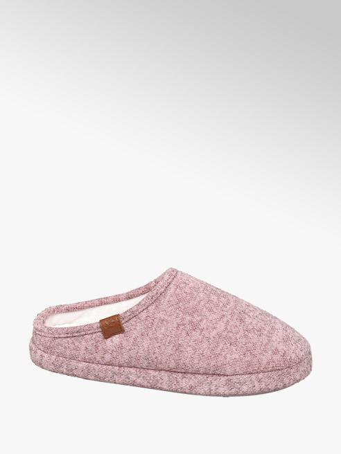 Ladies Pink Mule Slipper