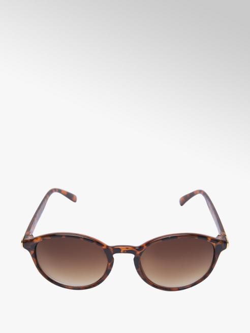 Ladies Round Frame Tortoiseshell Sunglasses