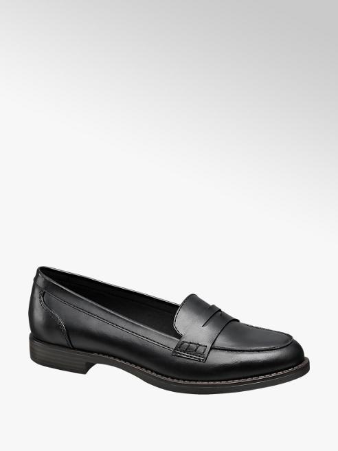 Graceland Black Loafers
