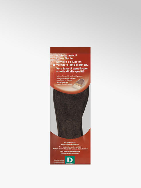 Dosenbach Lammwolle Einlegesohle 35/36 Unisex