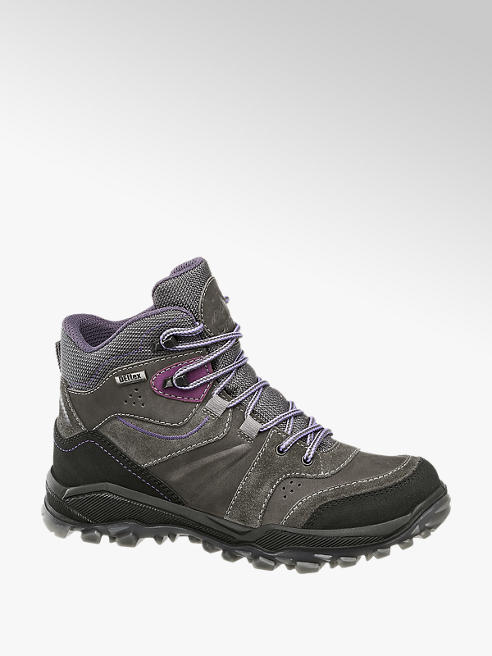 Landrover Grey Leather Hiking Boots