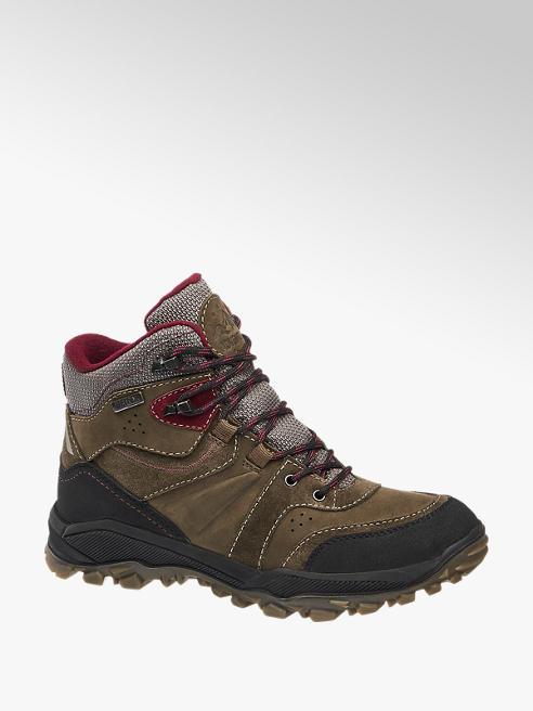 Landrover Khaki Leather Hiking Boots