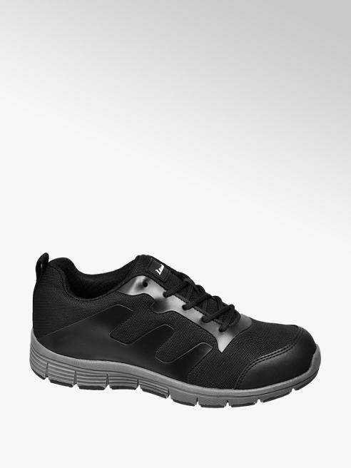 Landrover Black Steel Toe Cap Trainers