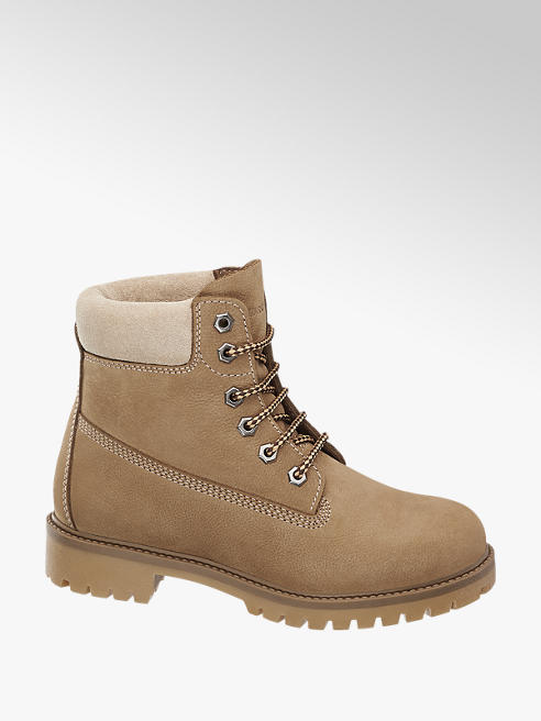 Landrover Taupe veterboot leer