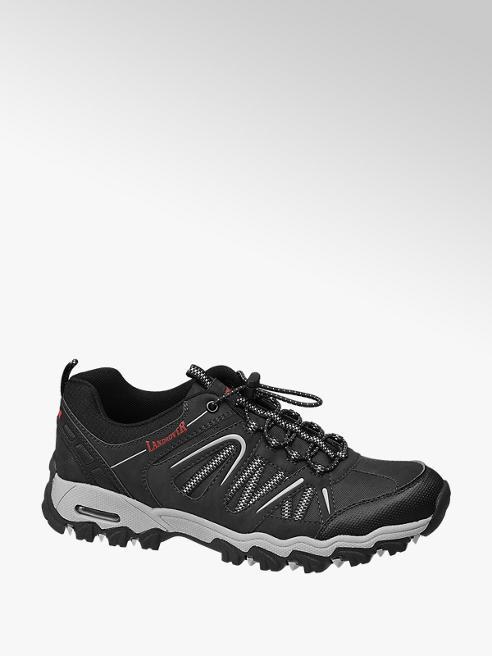 Landrover Zwarte wandelschoen