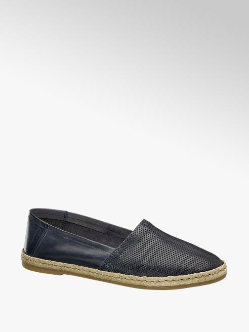 5th Avenue Læder Espadrille