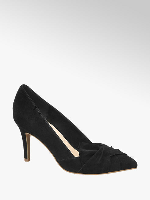 5th Avenue Læder Stiletpumps