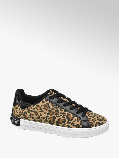 Graceland Leopárd mintás női sneaker