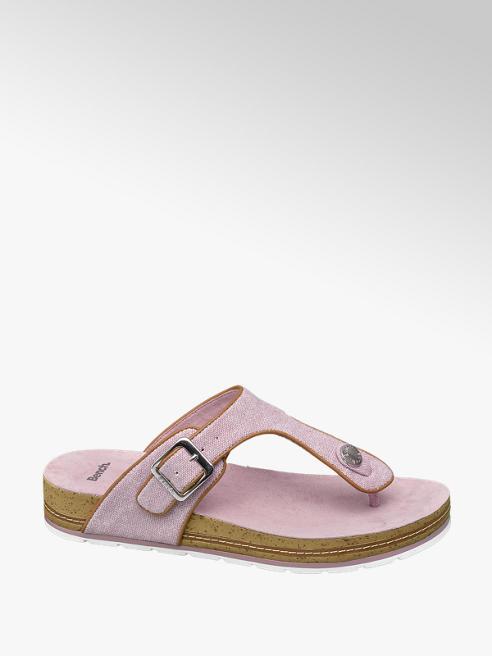 Bench Lila csatos lábujjközi papucs