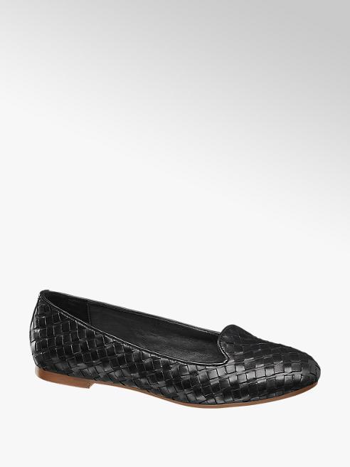 5th Avenue Loafer in pelle intrecciata