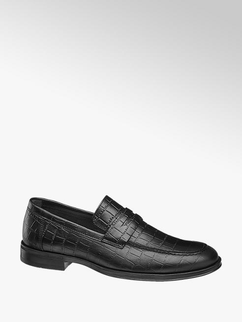 AM SHOE Loafer in pelle nera
