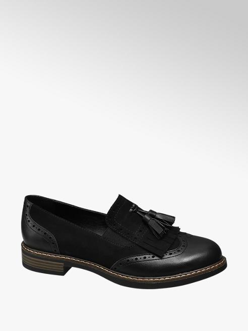 Graceland Loafer nero bimateriale