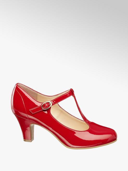 Graceland Mary Jane in vernice rossa