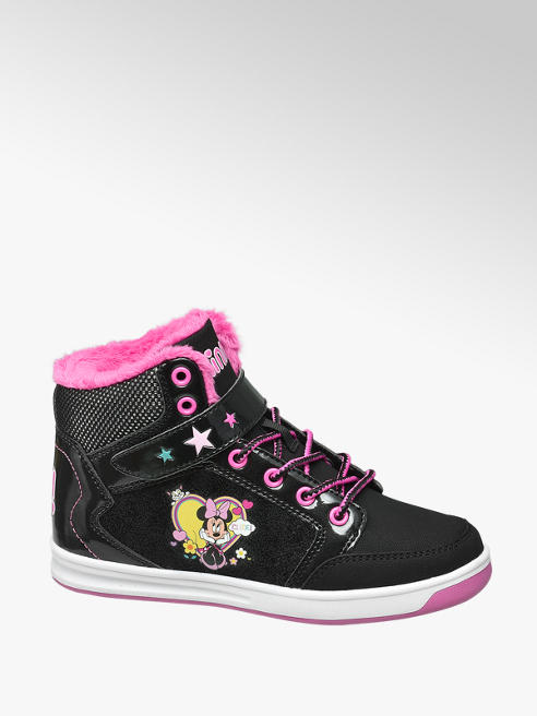 Minnie Mouse Mid Cut Sneakers gefüttert