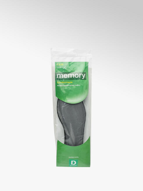 Memory Comfort Insole (Size 2.5-3)