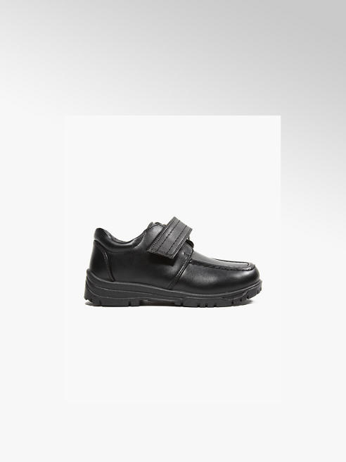 Memphis One Junior Boy Black Single Strap Shoes