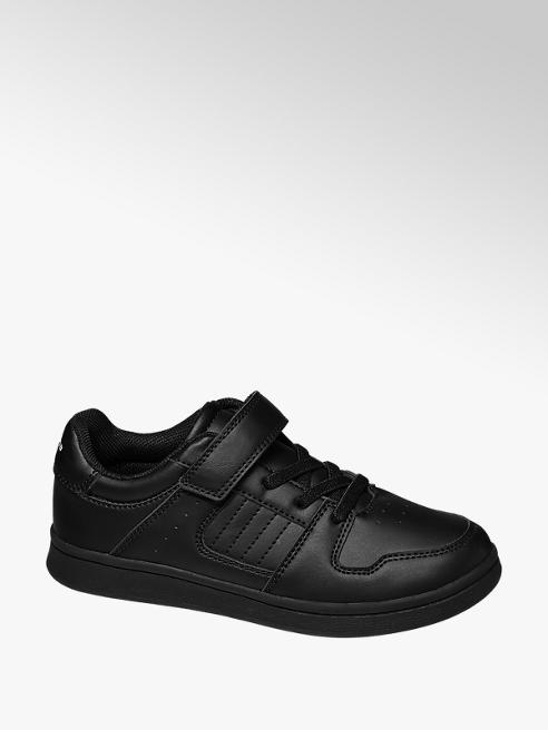 Memphis One Junior Black Single Strap Sporty Shoes