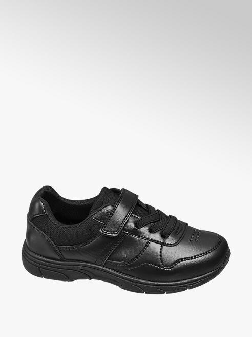 Memphis One Junior Black Sporty Casual Trainers