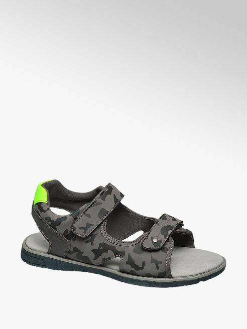 Memphis One Teen Boy Camo Print Sporty Sandals
