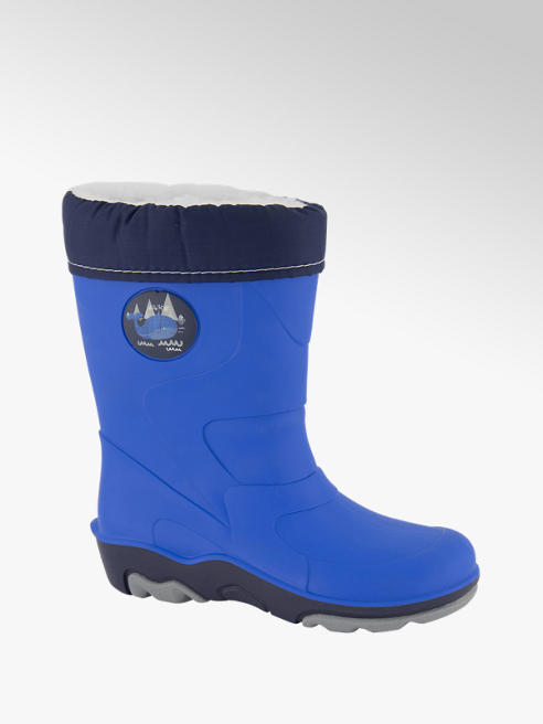 Memphis One Younger Boy Warm Lined Wellington Boots