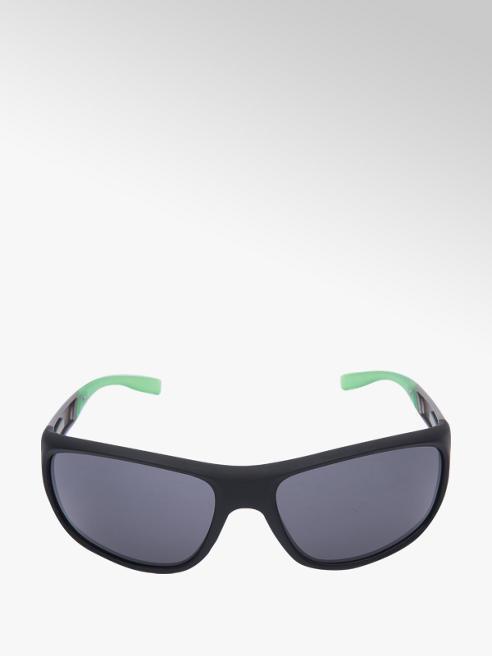 Mens Black Sports Wrap Sunglasses