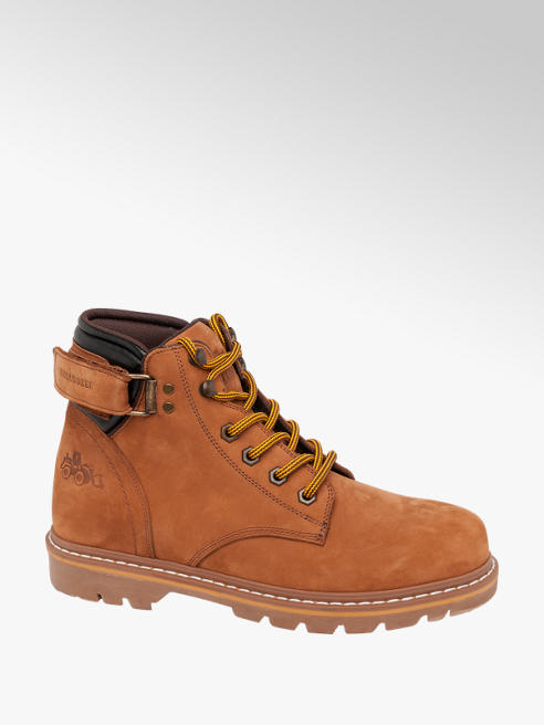 Casual Lace-up Bulldozer Boots