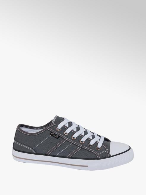 Fila Mens Fila Grey Lace-up Canvas Shoes