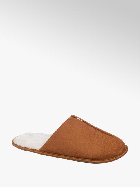 Mens Mule Tan Slippers