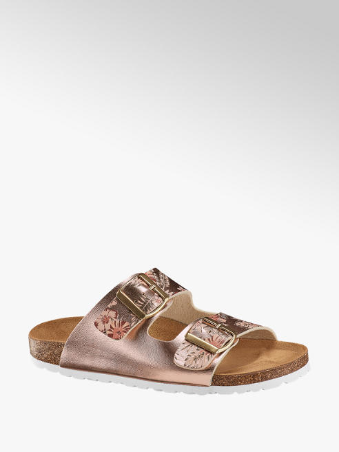 Graceland Metalické pantofle