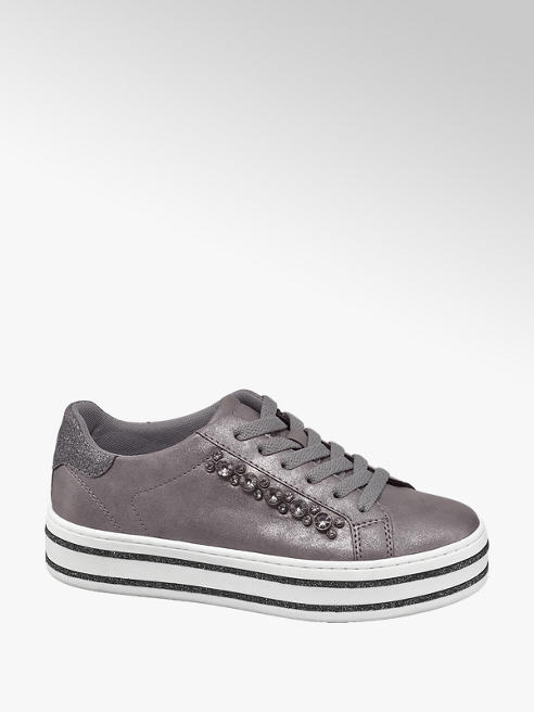 Graceland Metál színű sneaker