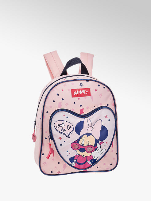 Minnie Mouse Rucksack in Rosa mit Print-On