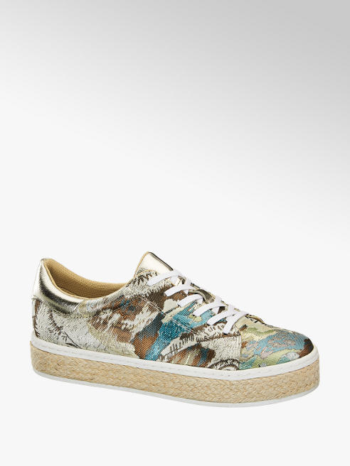 Catwalk Mintás platform sneaker