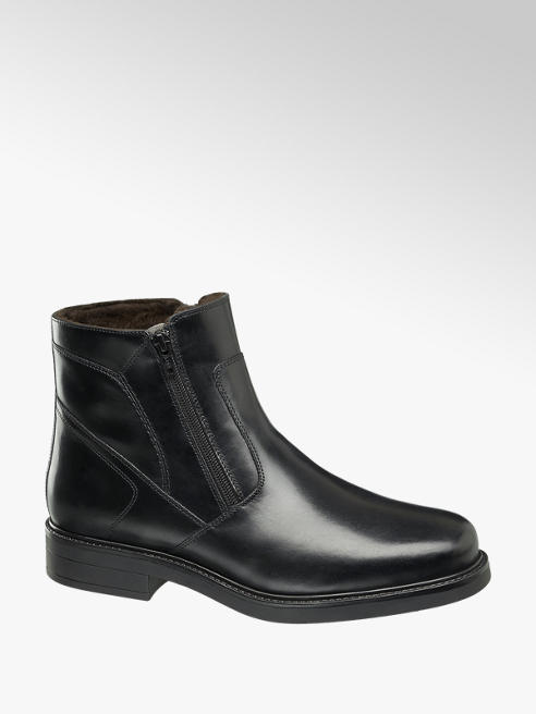 Claudio Conti Leder Boots, gefüttert