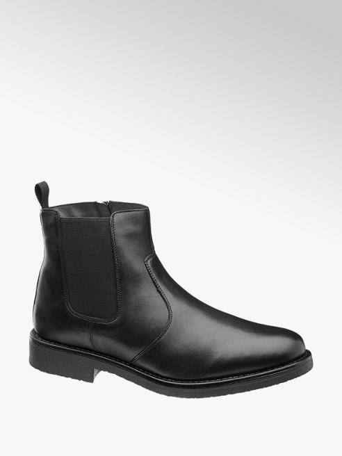 Claudio Conti Leder Chelsea Boots gefütter