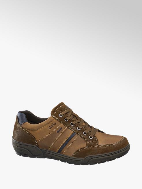 Gallus Leder Sneakers, Weite: G