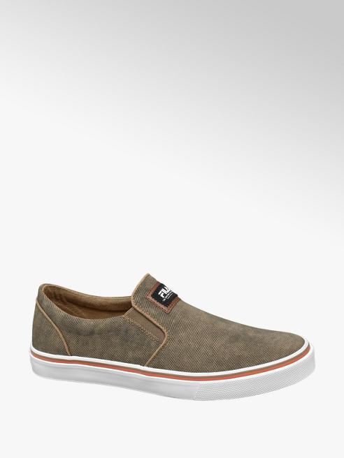 Fila Leinen Slip On Sneakers