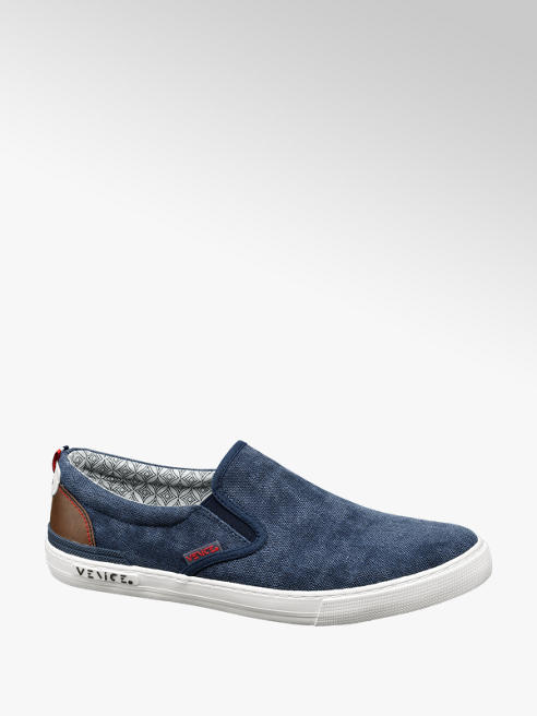 Venice Leinen Slip On Sneakers