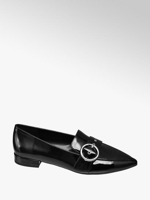 Catwalk Mocassino nero a punta