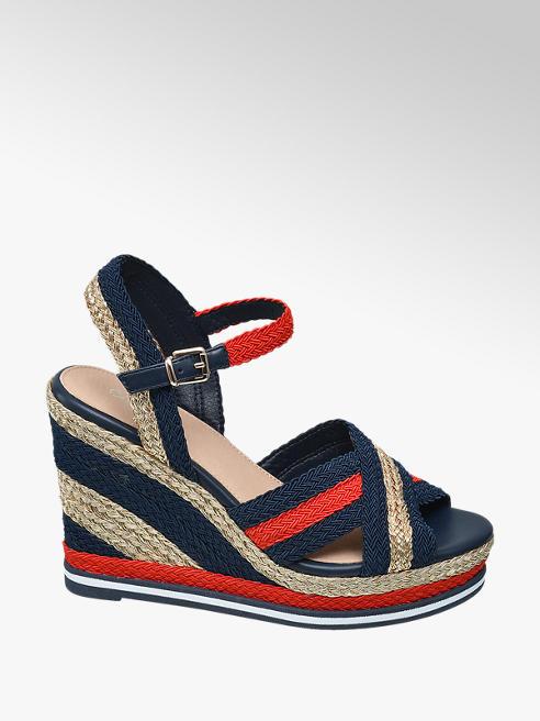 Catwalk sandały na koturnie