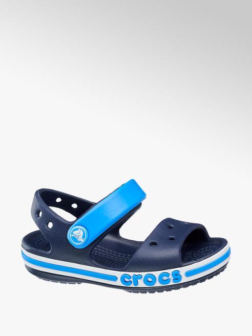 Crocs Modré detské plážové sandále Crocs