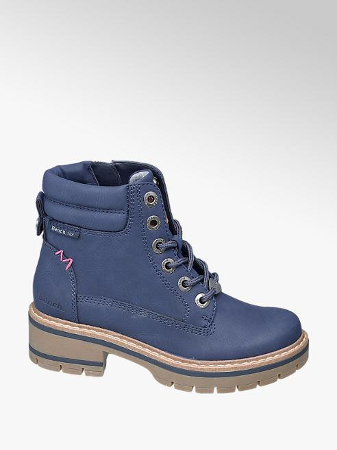 Bench Modrá dievčenská členková obuv Bench s Tex membránou