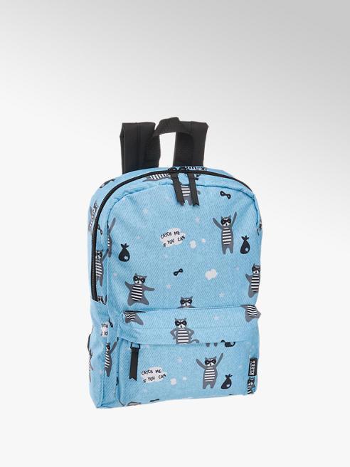 Modrý dětský batoh s mývalem