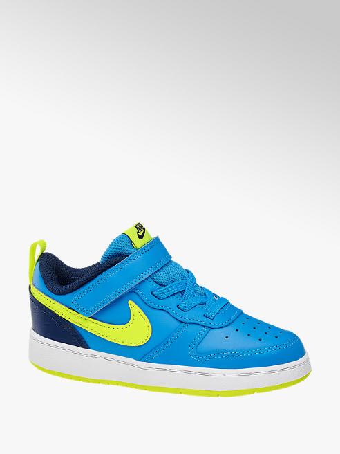 NIKE Modré dětské tenisky na suchý zip NIKE Court Borough 2