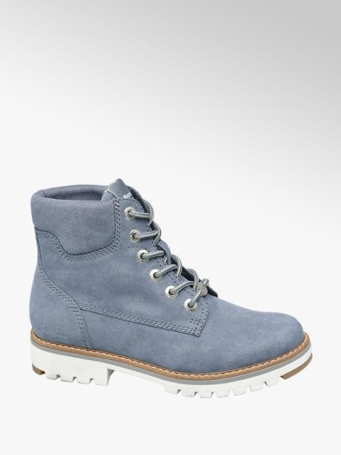 Bench Modrá šněrovací obuv Bench